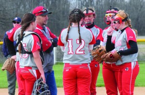 The Eastern Lady Warriors currently sit at 3-4 on the season thanks to an offense that exploded for 38 runs in a three-game stretch to start the year. Photo by Garth Shanklin - News Democrat