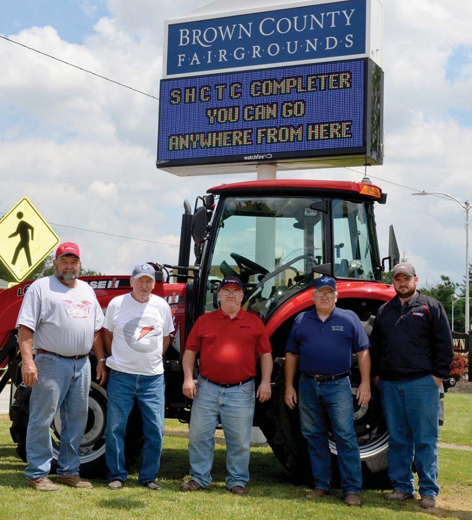 Fair Board tractor
