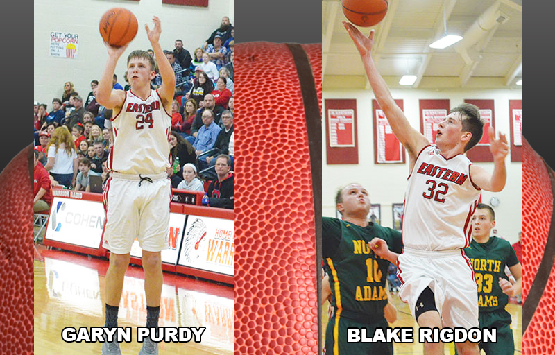 Eastern's Rigdon, Purdy earn AP SE District Div. III honors