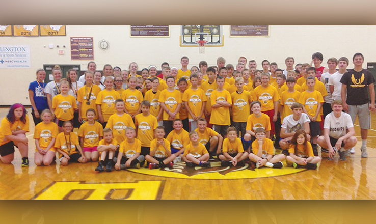 Western Brown youth basketball camps a success