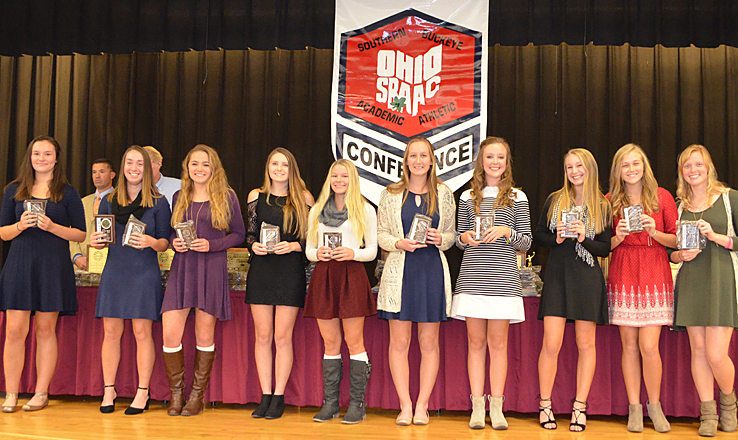 SBAAC awards girls tennis all-stars