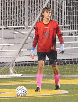 Western Brown's sophomore goalkeeper Sam Linkous has been named the SBAAC American Division Soccer Player of the Year.