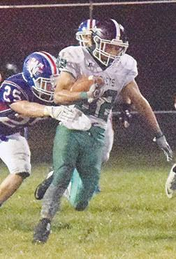 Fayetteville-Perry High School's senior running back, Chase Jester, has been named the Ohio Valley Athletic League Football Player of the Year after aiding the Rockets to their second straight league title this season by racking up 1,743 rushing yards and taking 24 touchdown carries.